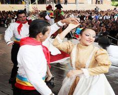 La escuela de formación de danza de Funza en los 201 años de la independencia de Cundinamarca