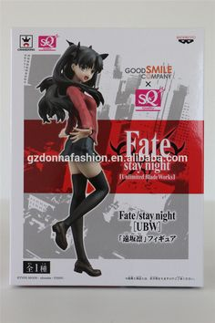 Wholesale 18cm Fate Stay Night Tohsaka Rin Action Figure, View hot toys, donnatoyfirm Product Details from Guangzhou Donna Fashion Accessory Co., Ltd. on Alibaba.com