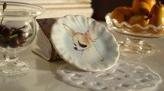 Dollhouse plate Lovely Chiguagua . €3.10, via Etsy.