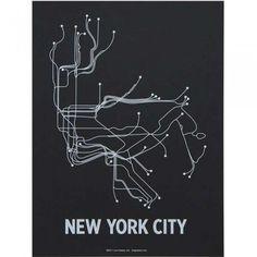 Lockwood - NYC Subway Print