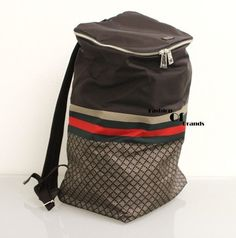 Gucci Diamante Backpacktravel Bagbook Bag. Brown Travel Bag. Save 14% on the Gucci Diamante Backpacktravel Bagbook Bag. Brown Travel Bag! This travel bag is a top 10 member favorite on Tradesy. See how much you can save