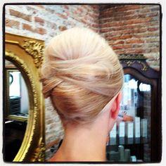 Hair up at Onda Salon by Piero Zattera www.ondasalon.com