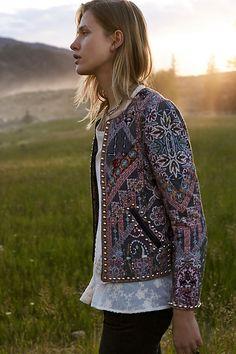 Studded Quilt Jacket