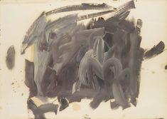 Gerhard Richter, Skizze zu Parkstück (Sketch for Park Piece), 1971, 61 cm x 85 cm, Oil on paper