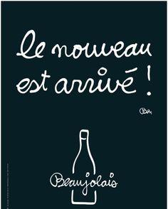 Celebrating Beaujolais Nouveau in Paris - Today is Beaujolais Nouveau Day!