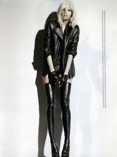 DSquared2 Thigh High Boots.