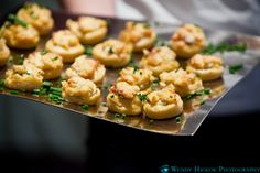 Herb-cheese Stuffed Polenta Hors d'oeuvres