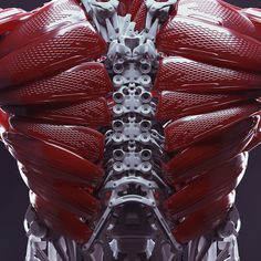 Our body will change in the near future. We will have a synthesis (radical and hard) between organic and non- organic. Robot Concept Art, Armor Concept, Science Fiction, Character Concept, Character Design, Arte Sci Fi, Millenium, Arte Robot, Futuristic Armour