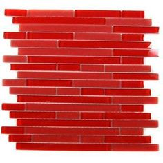 Temple Mars 12 in. x 12 in. x 8 mm Glass Mosaic Floor and Wall Tile