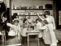 1910 tenement kitchen