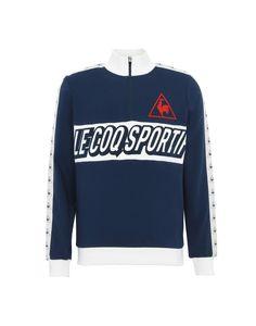 5b12d312e017 Le Coq Sportif Tri Lf Football Sweat Zippé M - Men Sports T-Shirt on YOOX.  The best online selection of Sports T-Shirts Le Coq Sportif.