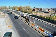 Instalan muros de contención en curvas de avenida La Cantera   El Puntero