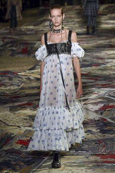 Alexander McQueen Printemps/Eté 2017, Womenswear - Fashion Week (#27371)