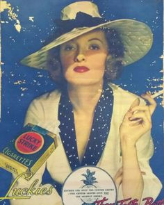 Cuadro Lucky Strike cigarettes