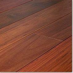 BuildDirect: Natural Santos Mahogany Premiere Hardwood Flooring, 3 1/4 in. Width