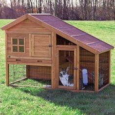 Features of Good Outdoor Rabbit Hutches  I need this for Foofy!!  only, inside my house :) -tp