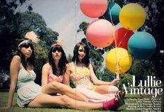 The Fashion-y Blog: Circus Pinup