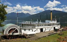 The SS Moyie, which plied the waters of Kootenay Lake from 1889 to 1957, is the oldest intact sternwheeler in the world and a National Historic Site of Canada. (Barb Gonzalez)