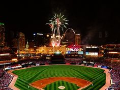 Busch Stadium, St. Louis -- baseball heaven! Want to go so bad! This is why!!! Sooo pretty!!! Literally my dream! www.aaa.com/travel