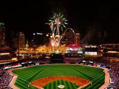 "Busch Stadium, St. Louis, Mo. ""Home of the Cardinals"""