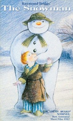 The Snowman is a children's picture book without words by English author Raymond Briggs Christmas Cartoons, Christmas Books, Father Christmas, Christmas 2016, Christmas Wishes, Christmas Cards, Merry Christmas, Christmas Ornaments, The Snowman Movie