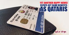 Expats to get similar benefits as Qataris after getting ID cards