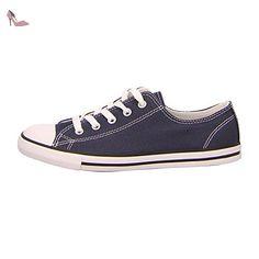 Cook N Home Converse Damen Sneaker Navy–Chaussures Unisexe - bleu - bleu, 42 EU - Chaussures converse (*Partner-Link)