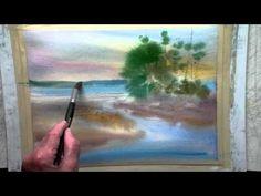Joe Francis Dowden: A watercolour seascape. - YouTube