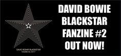 David Bowie Blackstar Fanzine - pre-order now!