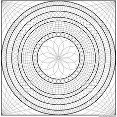 ... on Pinterest   Mandalas, Mandalas to color and Mandala coloring pages