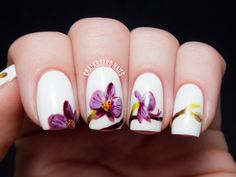 Pantone Color of the Year 2014: Radiant Orchid Nail Art