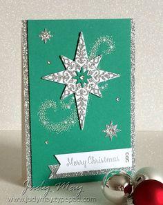Stampin' Up! Star of Light - Judy May, Just Judy Designs