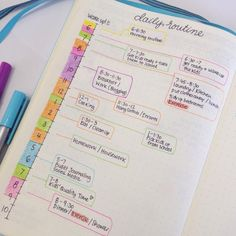 Tips on focus and time management on the blog today. ⏱ My Bullet Journal is one of the things that helps me be on top of things and be more productive. I created a daily routine timeline that basically gives me a rough idea of a normal day to see how I spend my time and know when I can schedule things. How do you manage your time during the day?