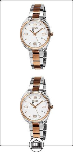 FENDI MOMENTO RELOJ DE MUJER CUARZO SUIZO 34MM CAJA DE ACERO F211234000  ✿ Relojes para mujer - (Lujo) ✿