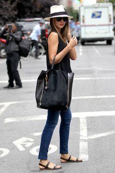 Miranda Kerrs Outfit - Jolie.de