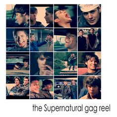 Gag reel! LOL, apparently, Jared is a very gassy individual!!!