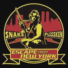 Snake Plissken (Escape from New York) Badge Colour