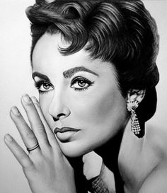 Captivating Celebrity Pencil Drawings