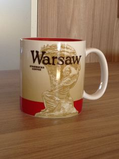 Warschau Starbucks City Mug