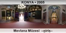 KONYA Mevlana Müzesi  –Giriş–