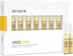 Skeyndor лифтинг концентрат (Uniq Cure Instant Lifting Concentrate) 7 x 2 ml Instant Lifts, The Cure, Shampoo, Bottle, Flask, Jars