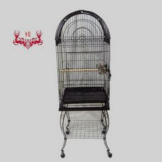 Large Bird-Parrot Cage Open