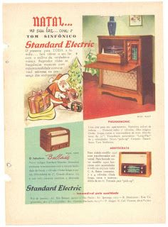 1952 - ANOS DOURADOS: IMAGENS & FATOS: IMAGENS - Anúncios para os Papais Noéis dos Anos Dourados