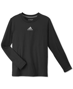 adidas Boys' Ultimate Long-Sleeve T-Shirt