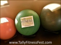 Why bother with heavy and expensive machinery? Ab Balls are such an easy and convenient way to strengthen your core! Remember to visit www.TallyFitnessFest.com for all things TFF related! We are so excited for all that is to come!