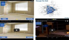 Trimble launched two New Concept Applications alias Sketchup Scan and Trimble Through The Wall for Google's Project Tango Program: Trimble just introduced two concept applications well matched with the most updated tablet platform of Google's Project Tango program.