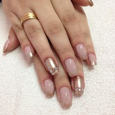 20 Stylish Nails Perfect For Randezvous Fabulous Nails, Gorgeous Nails, Pretty Nails, Nude Nails, Nail Manicure, Acrylic Nails, Chic Nails, Stylish Nails, Hair And Nails