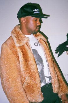 Kanye West wearing  Enfants Riches Déprimés Logo Hat