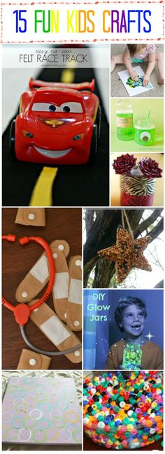 15 Fun Kid Crafts To Try - A Worthey Read!