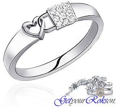 unusual diamond wedding ring